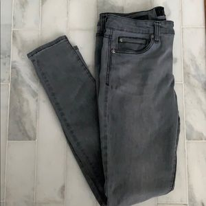 Kut From the Kloth Toothpick Skinny Jeans in Gray